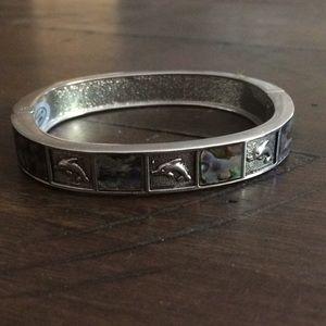 Dolphin Cuff Bracelet
